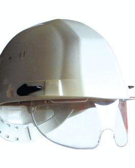 Casque avec lunettes intégrées
