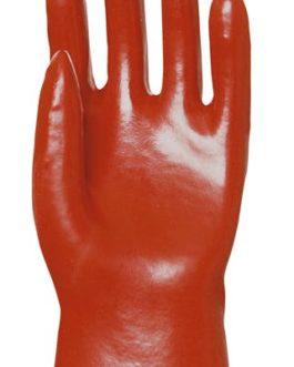 Gants enduit PVC rouge